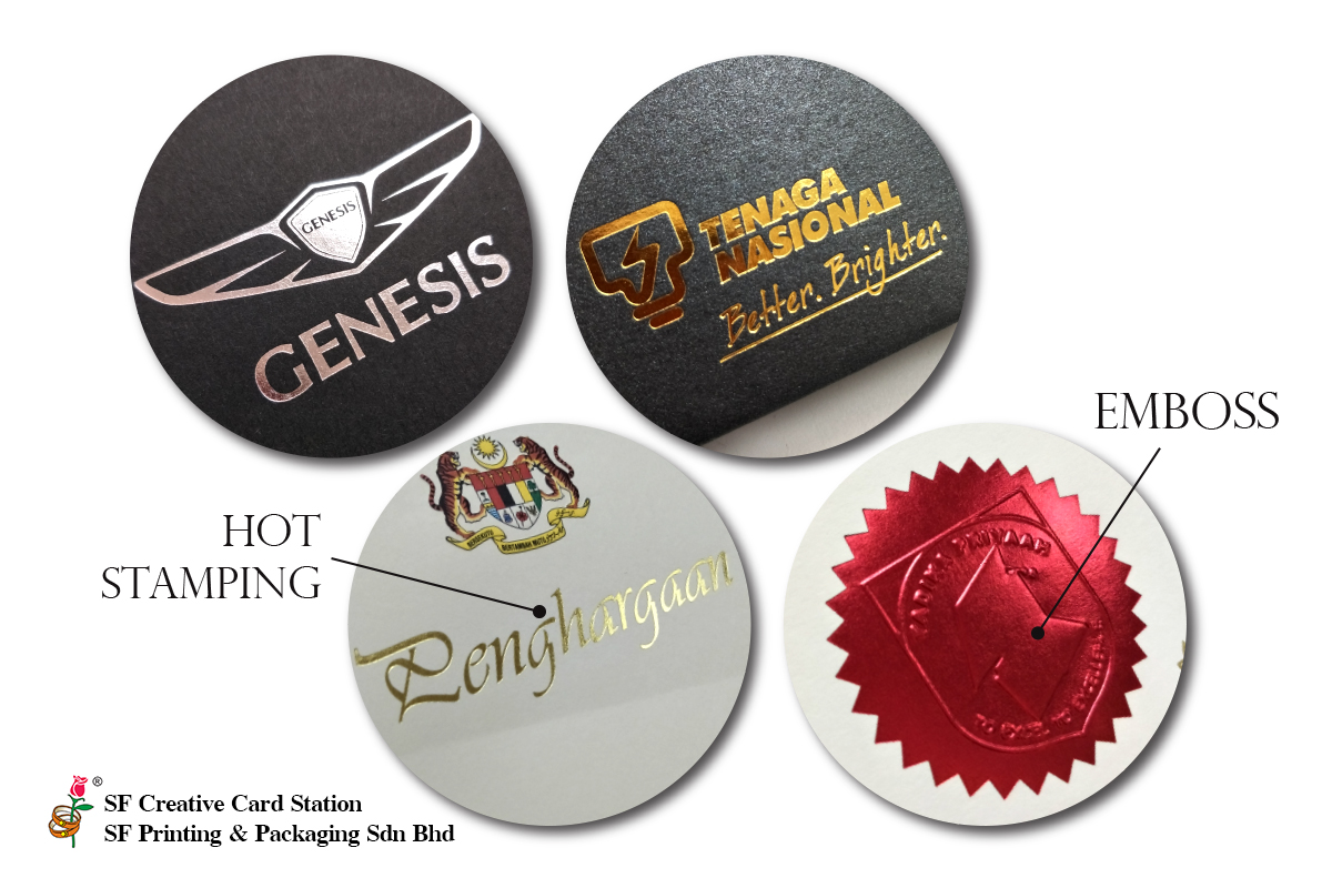Hot Stamping & Emboss Services